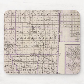 Map of Vermilion County, Mason City Mouse Pad