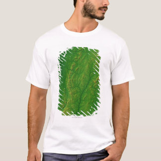 Map of Vermont 2 T-Shirt