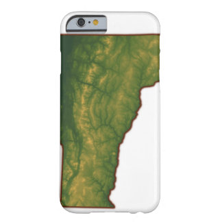Map of Vermont Barely There iPhone 6 Case