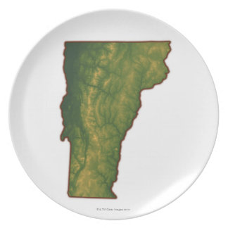 Map of Vermont Plates