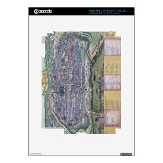Map of Vienna, from 'Civitates Orbis Terrarum' by Decals For iPad 3