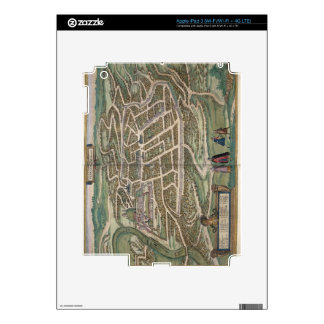 Map of Vilnius, Lithuania, from 'Civitates Orbis T iPad 3 Skins