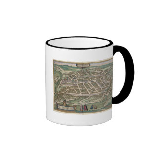 Map of Vilnius, Lithuania, from 'Civitates Orbis T Coffee Mug