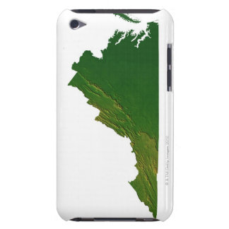 Map of Virginia Barely There iPod Cover
