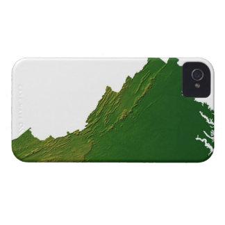 Map of Virginia iPhone 4 Cases