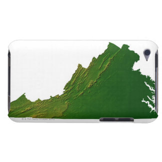 Map of Virginia Case-Mate iPod Touch Case