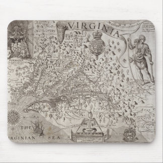 Map of Virginia, discovered and described by Capta Mouse Pad