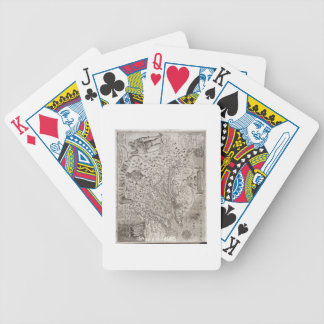 Map of Virginia, discovered and described by Capta Bicycle Card Deck