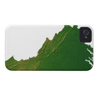 Map of Virginia iPhone 4 Case-Mate Case