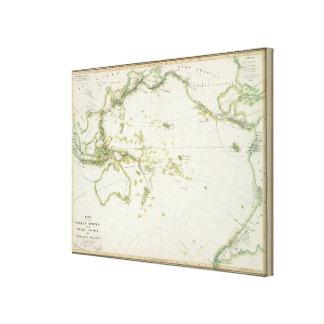 map of Volcano Girdle Canvas Prints