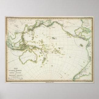 map of Volcano Girdle Print