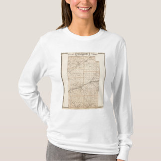 Map of Wabash County T-Shirt