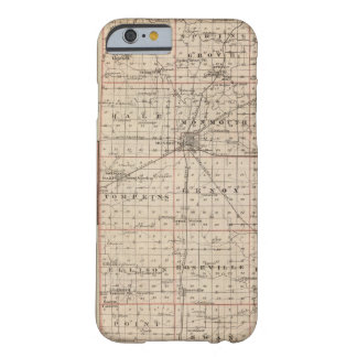 Map of Warren County, Abingdon Barely There iPhone 6 Case
