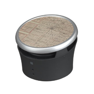 Map of Warren County, Abingdon Bluetooth Speaker