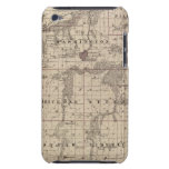 Map of Warren County, State of Iowa Barely There iPod Cases