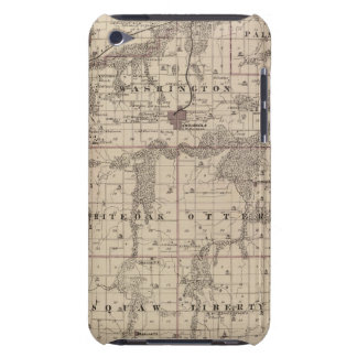 Map of Warren County, State of Iowa Case-Mate iPod Touch Case