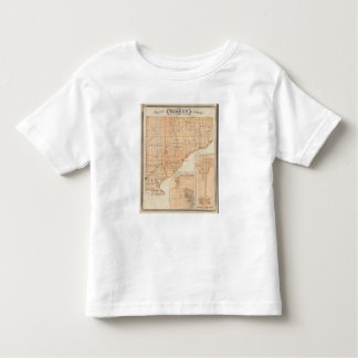 Map of Warren County with Plan of West Lebanon Toddler T-shirt