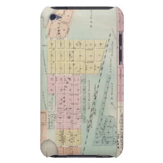 Map of Waseca, Minnesota iPod Touch Case-Mate Case