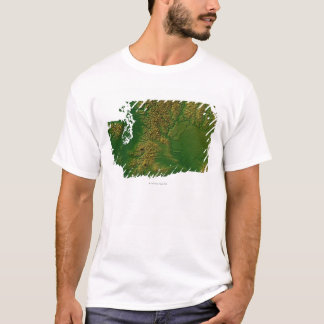 Map of Washington 3 T-Shirt