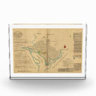 Map of Washington D.C. (1791) Award