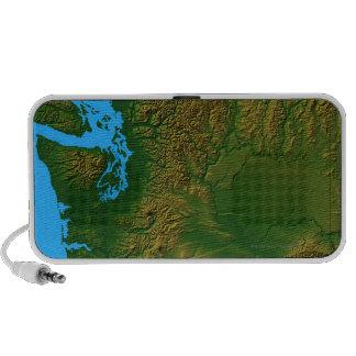Map of Washington iPhone Speakers