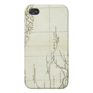 Map of West Africa Covers For iPhone 4