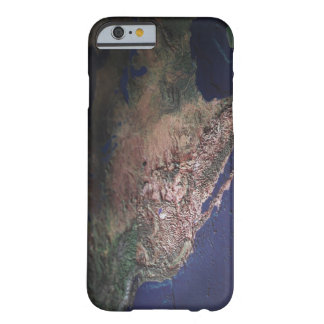 Map of West Coast USA Barely There iPhone 6 Case