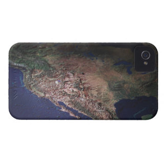Map of West Coast USA Case-Mate iPhone 4 Case