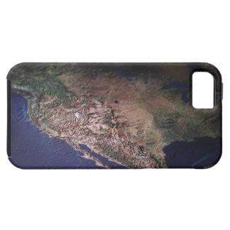 Map of West Coast USA iPhone SE/5/5s Case