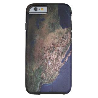Map of West Coast USA Tough iPhone 6 Case