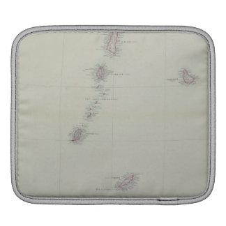 Map of West Indies iPad Sleeve