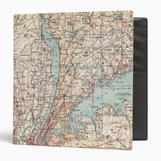 Map of Westchester County, New York Binder
