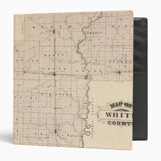 Map of White County Binder
