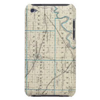 Map of Whiteside County Case-Mate iPod Touch Case