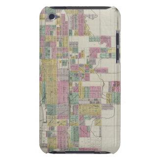 Map of Wichita, Kansas iPod Case-Mate Case
