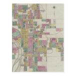 Map of Wichita, Kansas Postcards