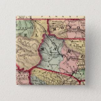 Map of Winfield, West Virginia Button