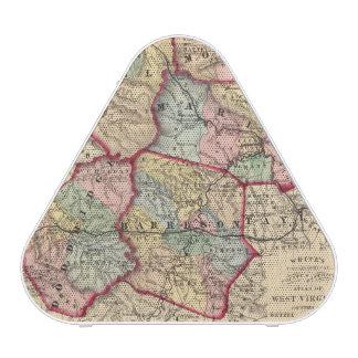 Map of Winfield, West Virginia Speaker