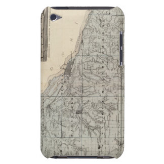 Map of Winona County, Minnesota Barely There iPod Cases