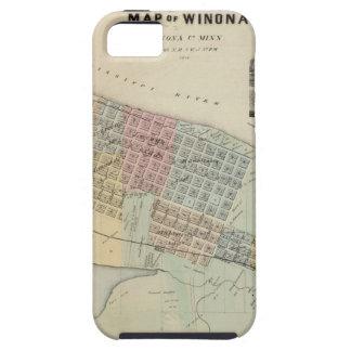 Map of Winona, Minnesota iPhone SE/5/5s Case
