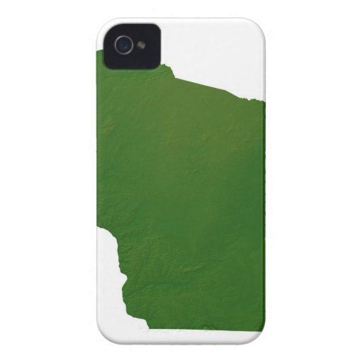 Map of Wisconsin iPhone 4 Case-Mate Cases