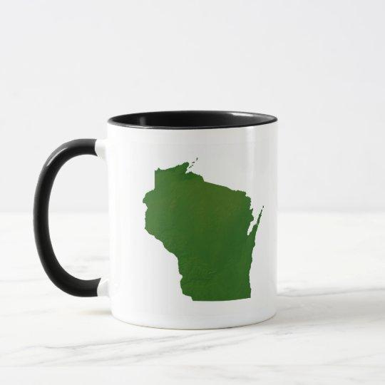 Map of Wisconsin Mug