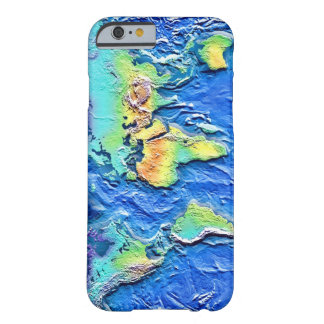 Map of world iPhone 6 case