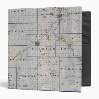 Map of Wright County, State of Iowa Binder