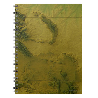 Map of Wyoming Notebook