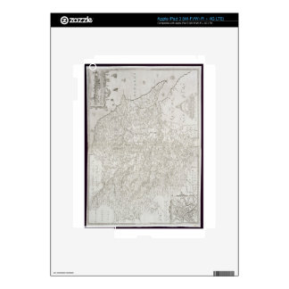 Map of Yorkshire, engraved by William Web, publish Decals For iPad 3