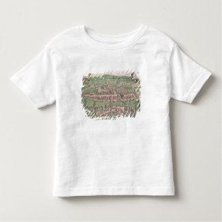 Map of Zurich, from 'Civitates Orbis Terrarum' by Toddler T-shirt
