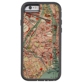 Map of Zurich Tough Xtreme iPhone 6 Case