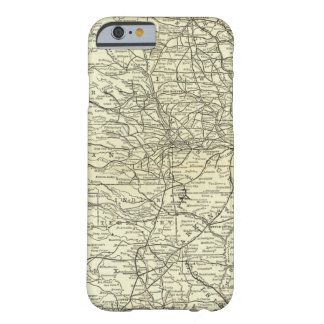 Map Ohio and Mississippi Railway Barely There iPhone 6 Case