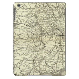 Map Ohio and Mississippi Railway Cover For iPad Air